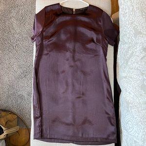 Olivaceous Short Sleeve Mini Dress